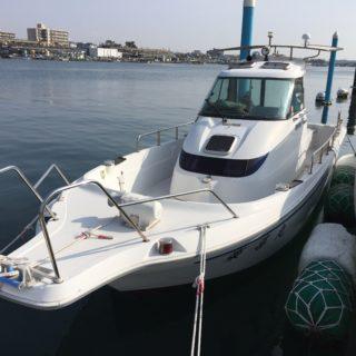 ヤンマー FX24 中古艇 お買い上げありがとうございました。