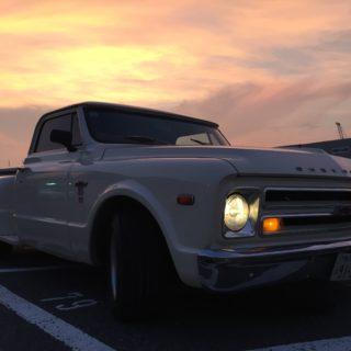 当社マスコットカー シボレーC10 1968年式