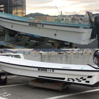 ヤマハ W20 ボート レストア カスタム #08 デザイン編 最終回